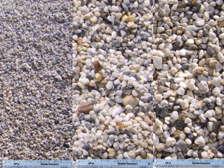 Gravel for Different color rocks for landscaping