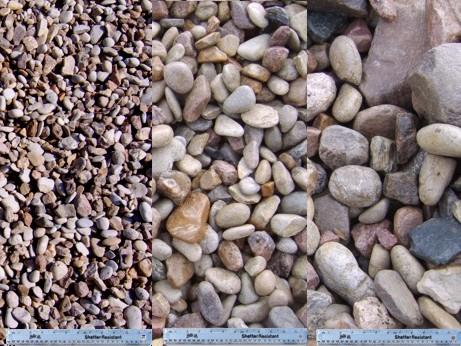 Gravel for Smooth landscaping rocks